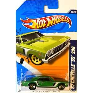 Mattel HOT WHEELS Muscle Mania GM 12 GREEN 67 CHEVELLE