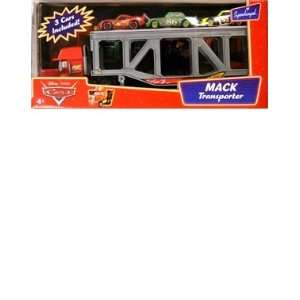 Disney Pixar Cars Mack Transporter Truck with Chick
