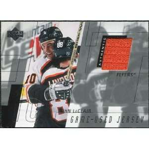 2000/01 Upper Deck Series 1 Game Jerseys #JL John LeClair