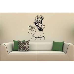Wall MURAL Decal Vinyl Sticker ANIME SEXY GIRL S. 2708