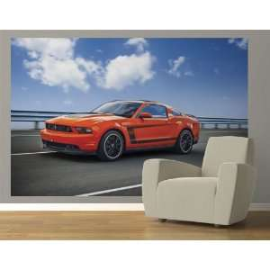 2012 Ford Mustang Boss 302 Competition Orange Pre Pasted