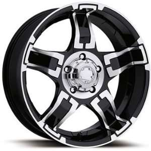 Ultra Drifter 15x8 Black Wheel / Rim 5x4.75 with a  19mm Offset and a