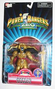 GOLDAR Power Rangers ZEO action figure MOSC