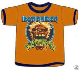 IRON MAIDEN Crunch 2T Toddler Shirt NEW