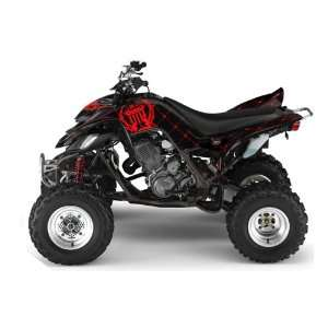 Silver Star AMR Racing Yamaha Raptor 660 ATV Quad Graphic