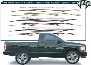Decals Stripes Car Chevy Ford Truck Dodge RAM 1500 DAKOTA