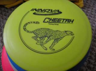 Innova DX Cheetah 172 gram yellow driver golf disc