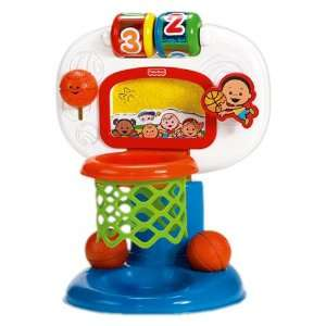 Fisher Price Brilliant Basics Dunk n Cheer Basketball Toys & Games