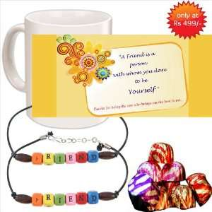 Friendship Day Gift Special Mug,Friends band Chocolates