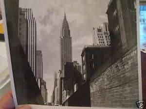 1940s Chrysler Bldg New York City Skyline NYC Photo
