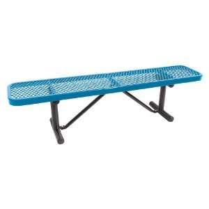 Standard Expanded Metal Player Commercial Grade Bench