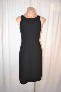 THE LIMITED STRETCH BLACK SLEEVELESS DRESS WOMEN SZ 2