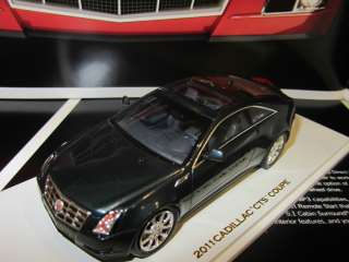 43 2011 Cadillac CTS Coupe Black Raven BY LUXURY COLLECTIBLES Hand