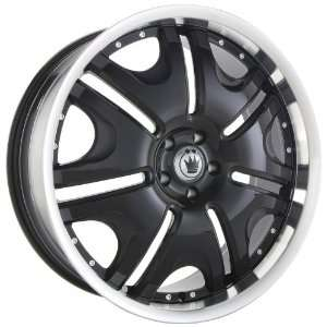 20x9.5 Konig Blix 1 (Black w/ Machined Lip) Wheels/Rims