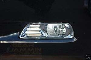 07 10 Toyota Camry XLE Chrome Fog Light Surrounds Cover