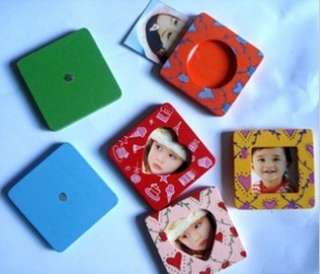 Wooden Fridge Magnet,Photo Frame,Party Favours,PHM008