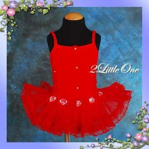 Girl Ballet Tutu Dance Costume Leotard Dress Size 2T 5