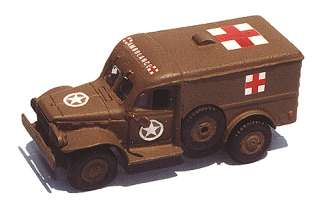 Military   US & Allies WWII   Light Trucks (Resin Kit w/Hollow Body)