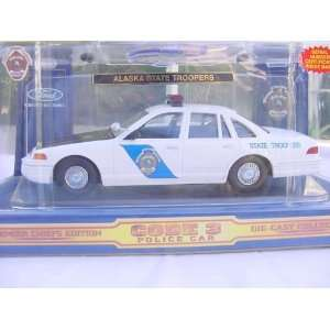 CODE THREE, 1/24 SCALE, ALASKA STATE TROOPER, FORD CROWN