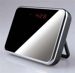 Digital Motion Detection Table Clock Camera Spy Remote control DVR