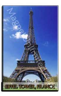 Eiffel Tower   Paris France Souvenir Fridge Magnet #5