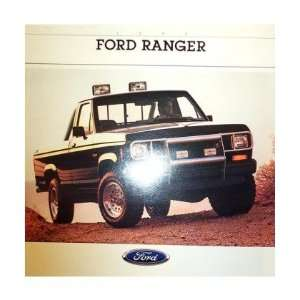 1988 FORD RANGER Sales Brochure Literature Book Piece