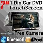 Ouku 7 Auto TouchScreen Single Din Car VCD Stereo DVD Player iPod