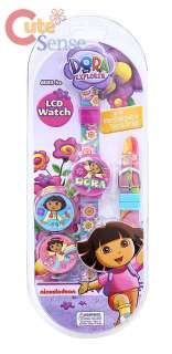 Nick Dora Pink Kids Wrist Watch 1