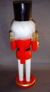 14 Nutcracker DRUMMER Red Green Gold NEW w Drum Hat