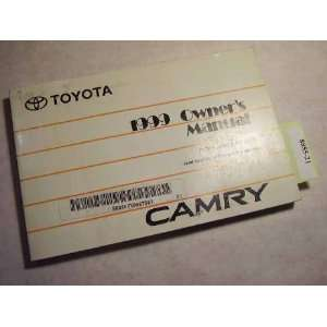 1999 Toyota Camry Owners Manual Toyota Motor Co. Books