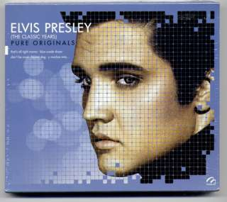Elvis Presley The Classic Years Pure Originals Mexican Edition CD