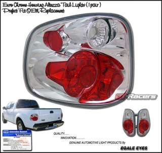 01 02 03 FORD F150 FLARESIDE EURO ALTEZZA TAIL LIGHTS