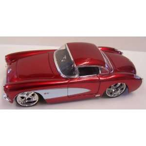 Jada Toys 1/24 Scale Diecast Big Time Muscle 1957 Chevy Corvette with