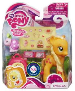 My Little Pony Friendship Magic Applejack with Suitcase
