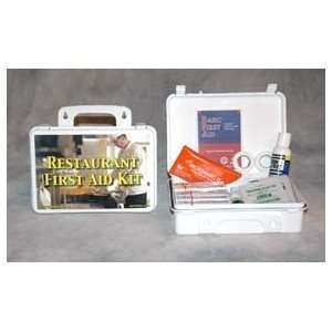 Restaurant First Aid Kit (case w/supplies) Health
