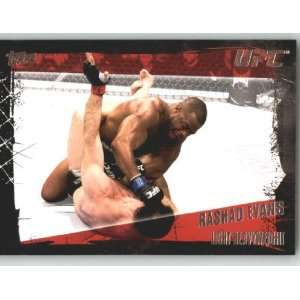2010 Topps UFC Trading Card # 61 Rashad Evans (Ultimate