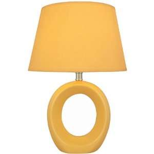 Art Deco Table Lamp   Yellow