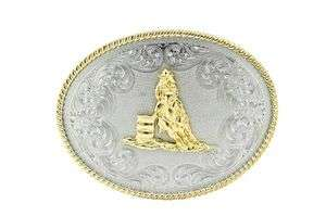 BARREL RACING WESTERN BELT BUCKLE GO WITH SADDLE CHAPS BRIDLE AWARD