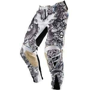 Fox Racing Platinum Latinese Pants   28/White/Black