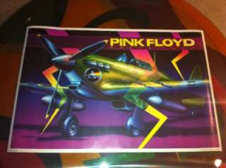 PINK FLOYD 1988 Tour Poster Harron Dark Side of the Moon Wall AIRPLANE