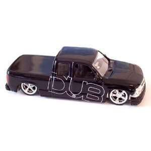 Jada Dub City 2000 Black Chevy Silverado 164 Scale Die
