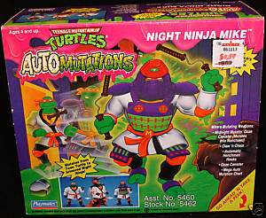 NRFB Mutant Turtles TMNT Night Ninja Mike Automutations