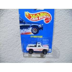 Hot Wheels Bywayman All Blue Card #220 White with Black