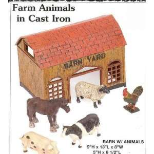 Farm Set with Barn and Animals