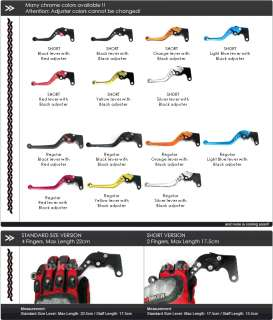 PRO brake and clutch levers for Buell XB12R /XB12Ss /XB12Scg 09