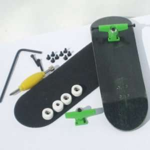 Peoples Republic Complete Wooden Fingerboard   Black Toys & Games