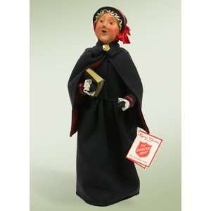 Byers Choice Carolers   Salvation Army   Woman With Bible