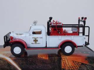 Matchbox Fire Engine Series YYM37636 1946 Dodge Power Wagon Brush