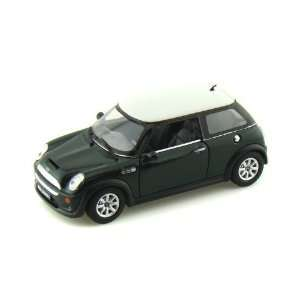 Mini Cooper S 1/28 Green Toys & Games