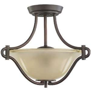 Sea Gull Newberry 2 Light Convertible Semi Flush/Pendant